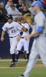 Titans Force Deciding Game With 11-8 Victory