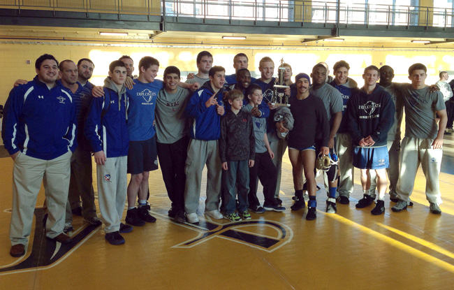 F&M Takes Mid-Penn Duals Title