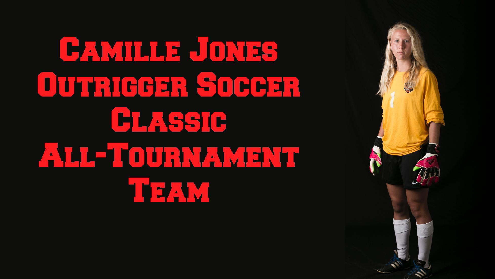 Camille Jones named to all-tournament team