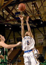 Green, Wilson Lead UCSB to 70-64 Defeat of Cal State Fullerton