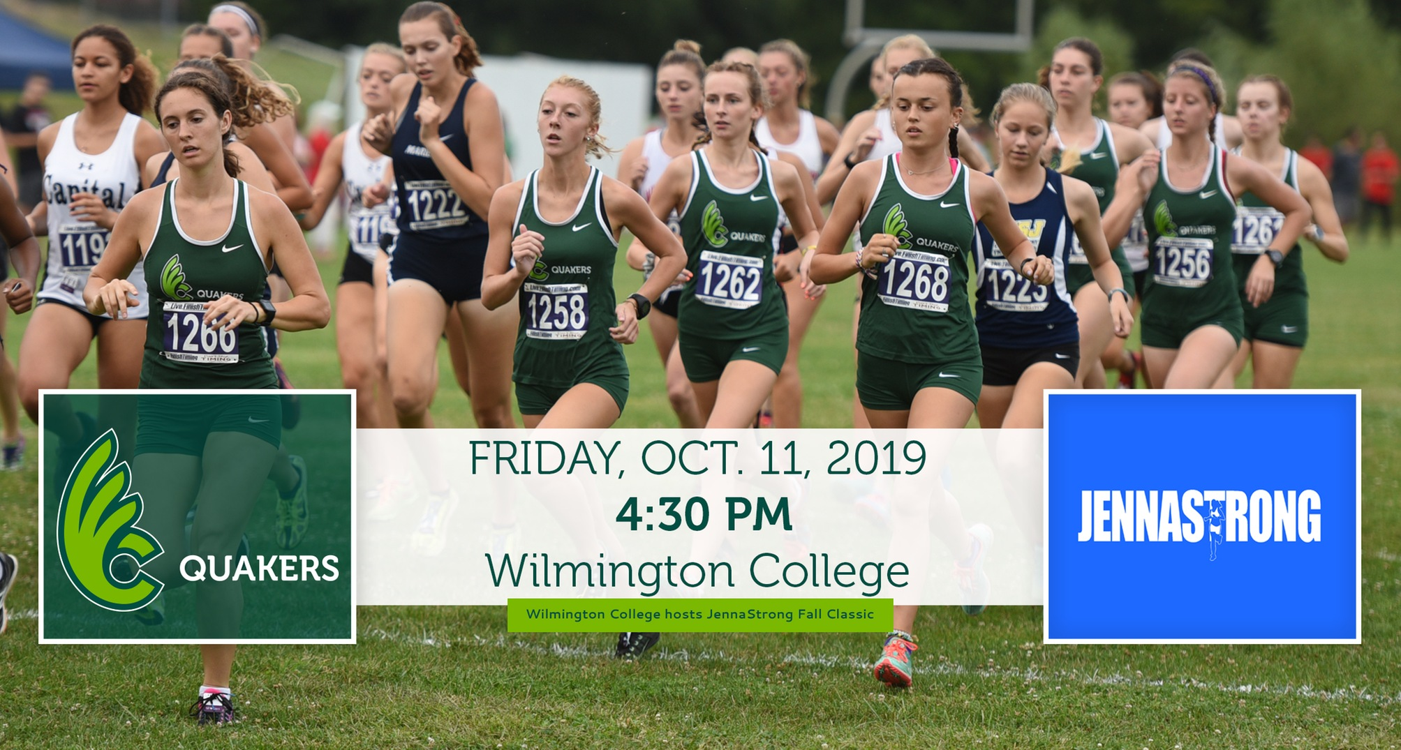 Women's Cross Country Set to Host Seventh Annual JennaStrong Fall Classic