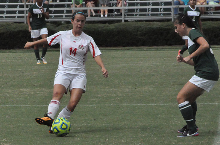 Women's Soccer: Panthers open USA South play with 8-0 shutout of visiting Mary Baldwin