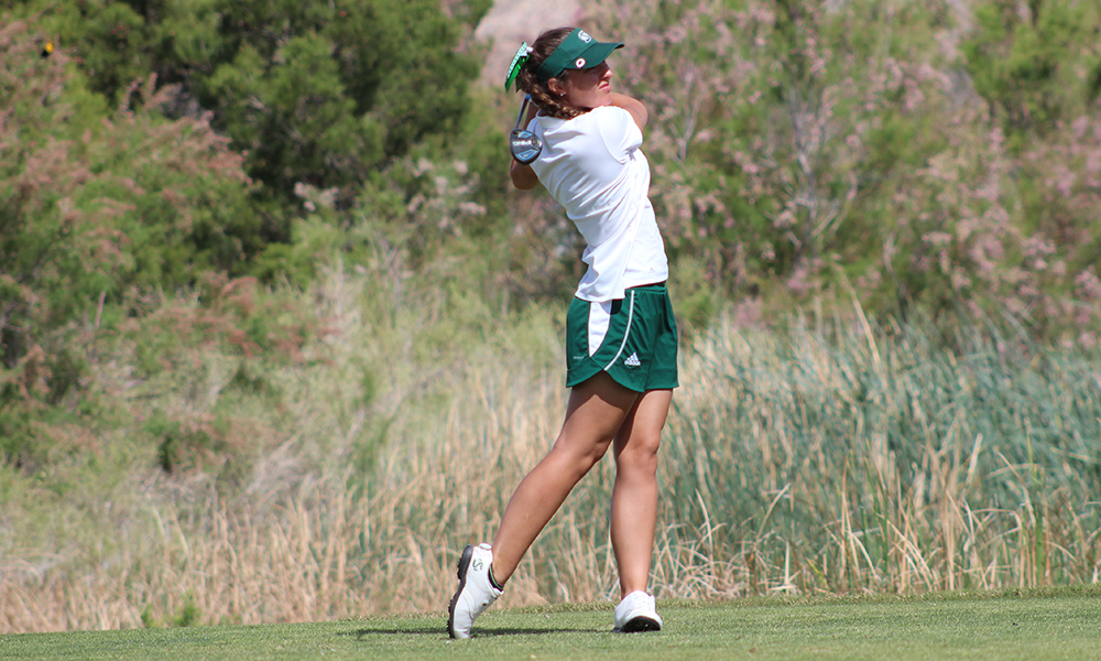 WOMEN'S GOLF, BECKER IN SECOND PLACE AT THE GOLD RUSH