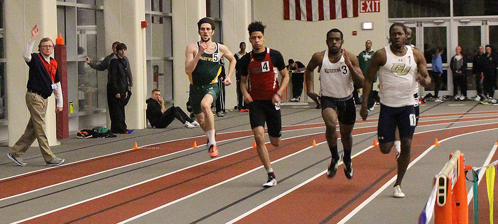 Three more GU men's indoor track and field records fall at Susquehanna University