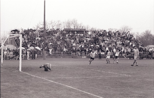 Ohio Wesleyan's game-winning goal in 1990 semifinal