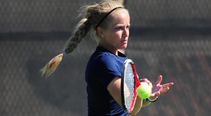 #26 GC Women's Tennis Starts PBC Tournament with Host Francis Marion