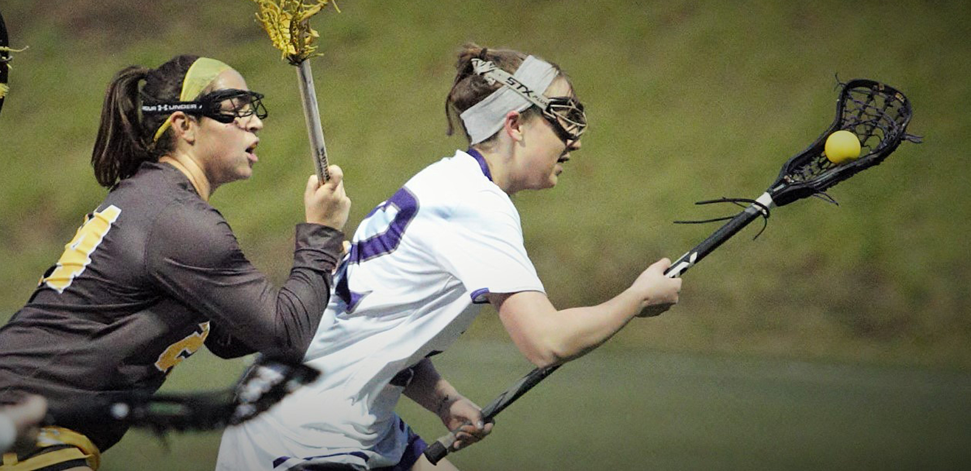 Jill Henson posted game-highs of four goals and five caused turnovers to go along with three ground balls on Wednesday at Oneonta.