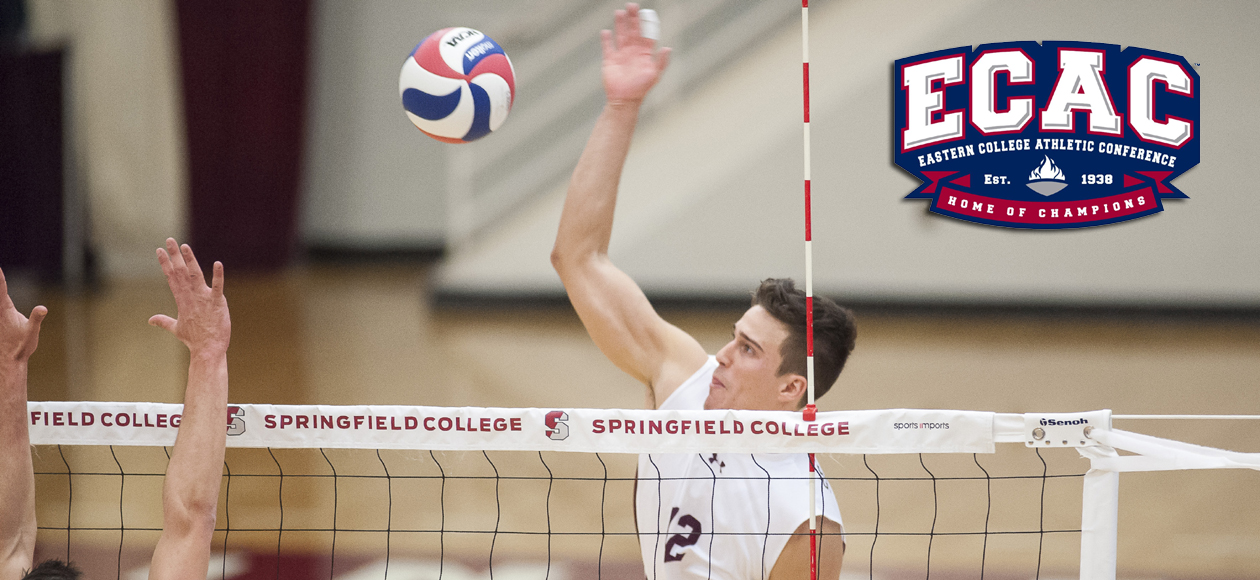 Figueroa Velez Named ECAC Division III North Men's Volleyball Player of the Week