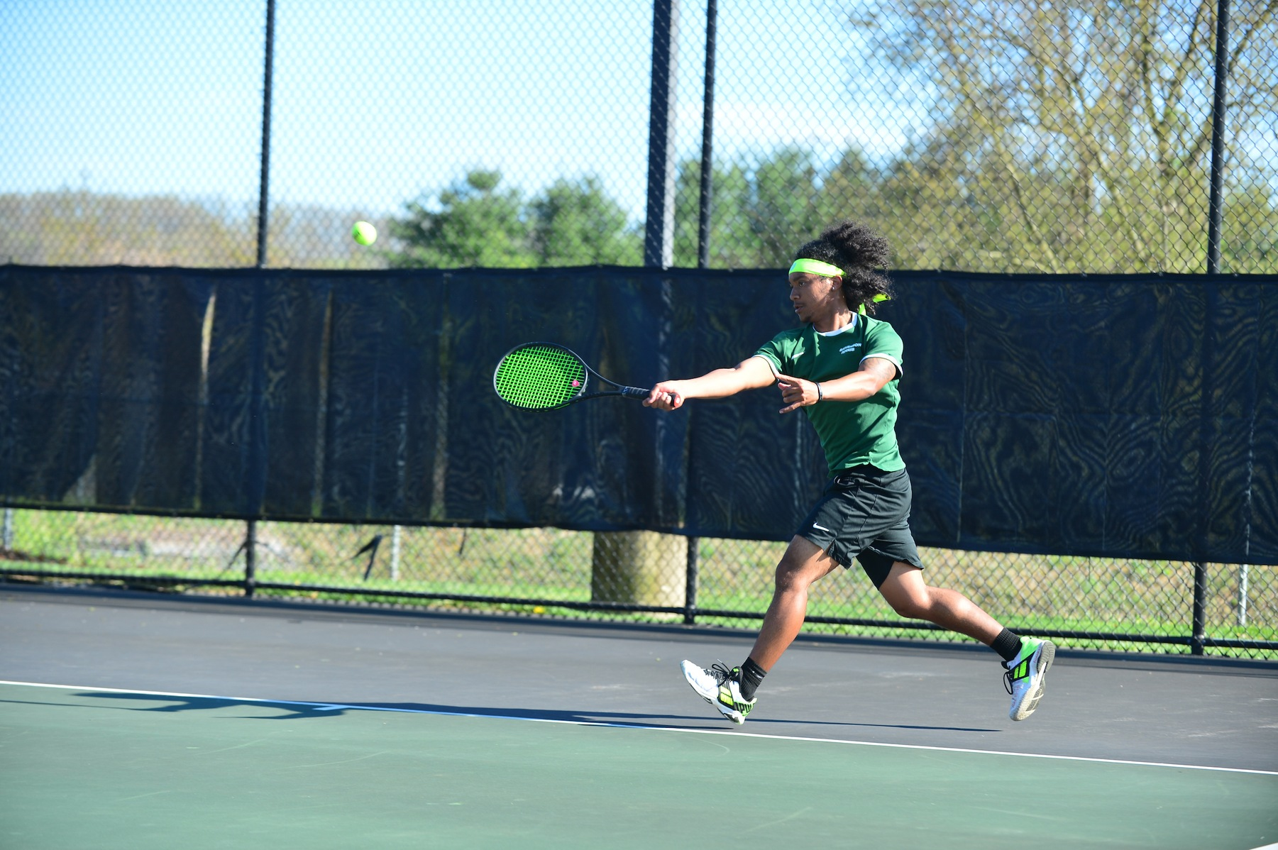 Men's Tennis Falls in Non-Conference Match to Haverford