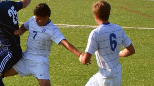 Falcon men's soccer overcomes obstacles to defeat Lakeland