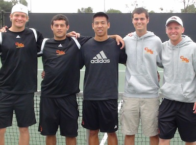 Men's Tennis Wins Sixth Straight SCIAC Title
