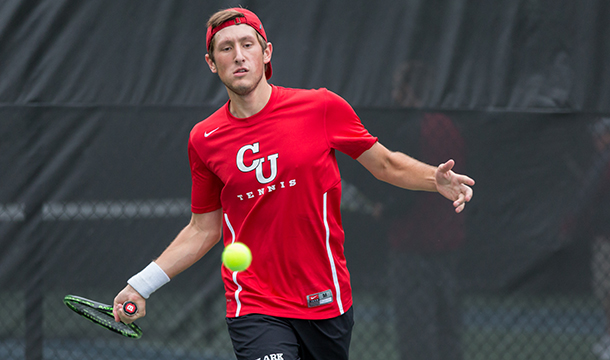 Men's Tennis Picks Up  NEWMAC Victory Over Lions