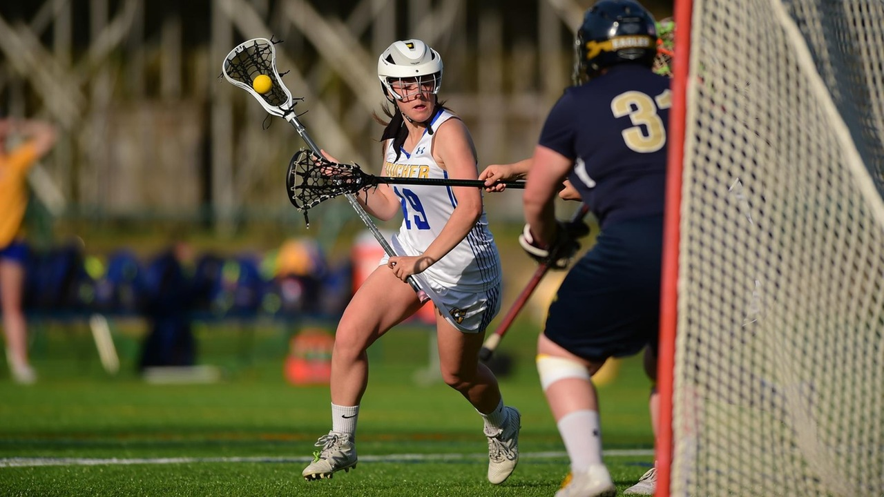 Agostino-Flinn Jump Starts The Offense To Reel In Goucher Women's Lacrosse Season-Opening 11-7 Win Against Marlins