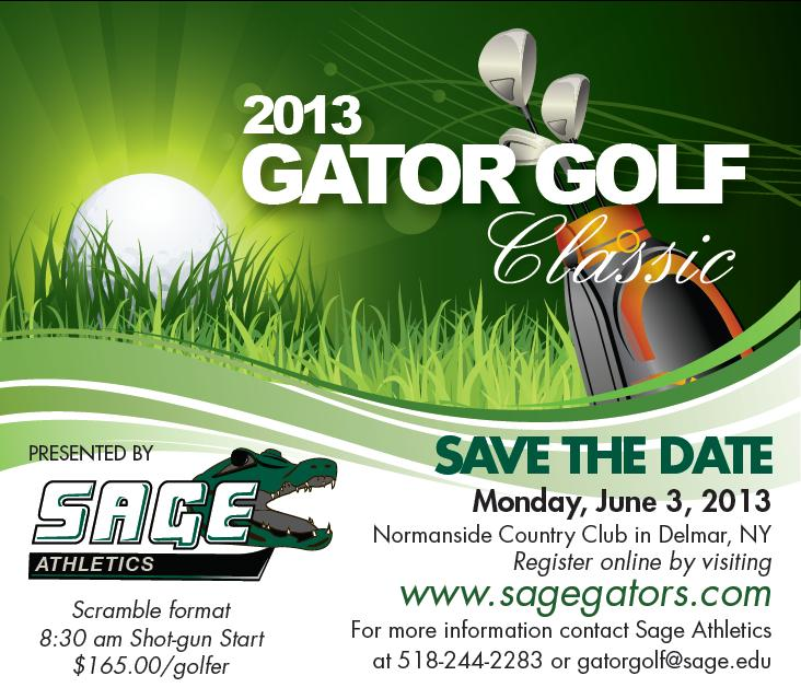Mark Your Calendar for the 9th Annual Gator Golf Classic