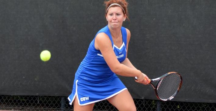 Women's Tennis falls to Edgewood, defeats Rockford in NAC action
