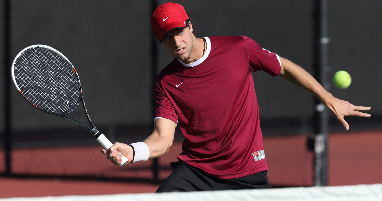 Men's Tennis Falls to No. 4 USC in ITA Kick-Off Weekend; Faces No. 64 Georgia State on Sunday