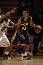 UCSB Claims 87-82 exhibition victory over Simon Fraser