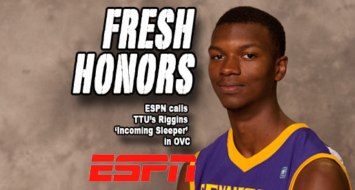 Riggins named OVC's 'Incoming Sleeper' by ESPN