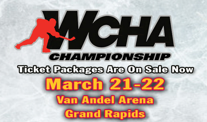 WCHA Championship Single-Game Tickets Go On Sale Monday!