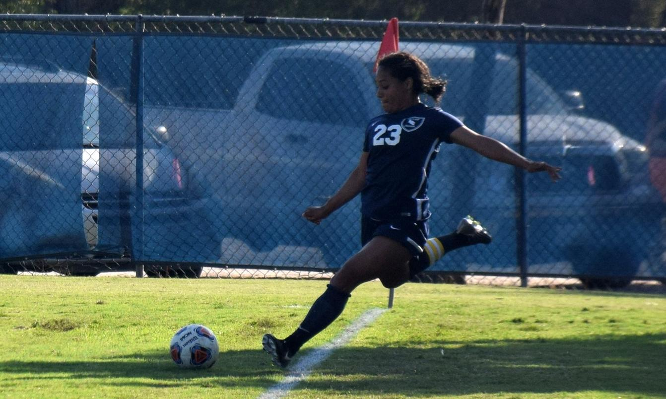 Women's soccer team falls to Santa Ana by a goal at home