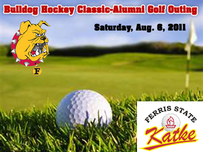 Bulldog Hockey Classic-Alumni Golf Outing Slated For August 6