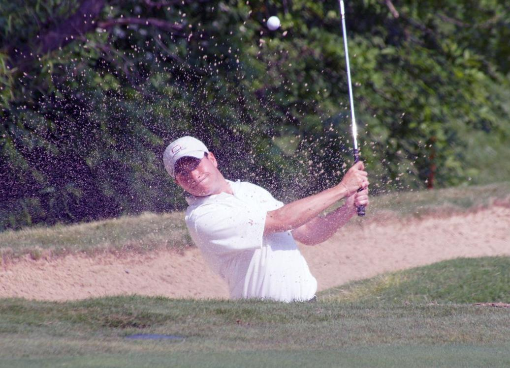Guilford Stands Ninth Halfway Through NCAA Golf Championships