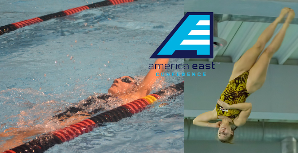 Frediani and Darelius Sweep America East Weekly Swimming and Diving Awards