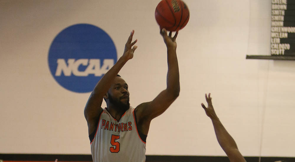 Men's basketball records crucial win at Westminster