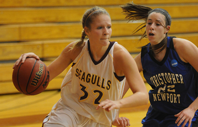 Hildebrand nets double-double, Sea Gulls fall to CNU