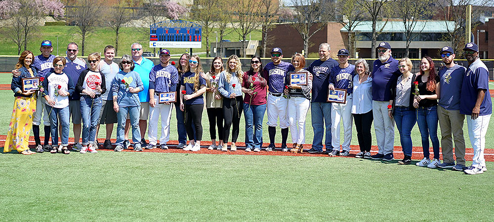 Gallaudet baseball senior day group photo