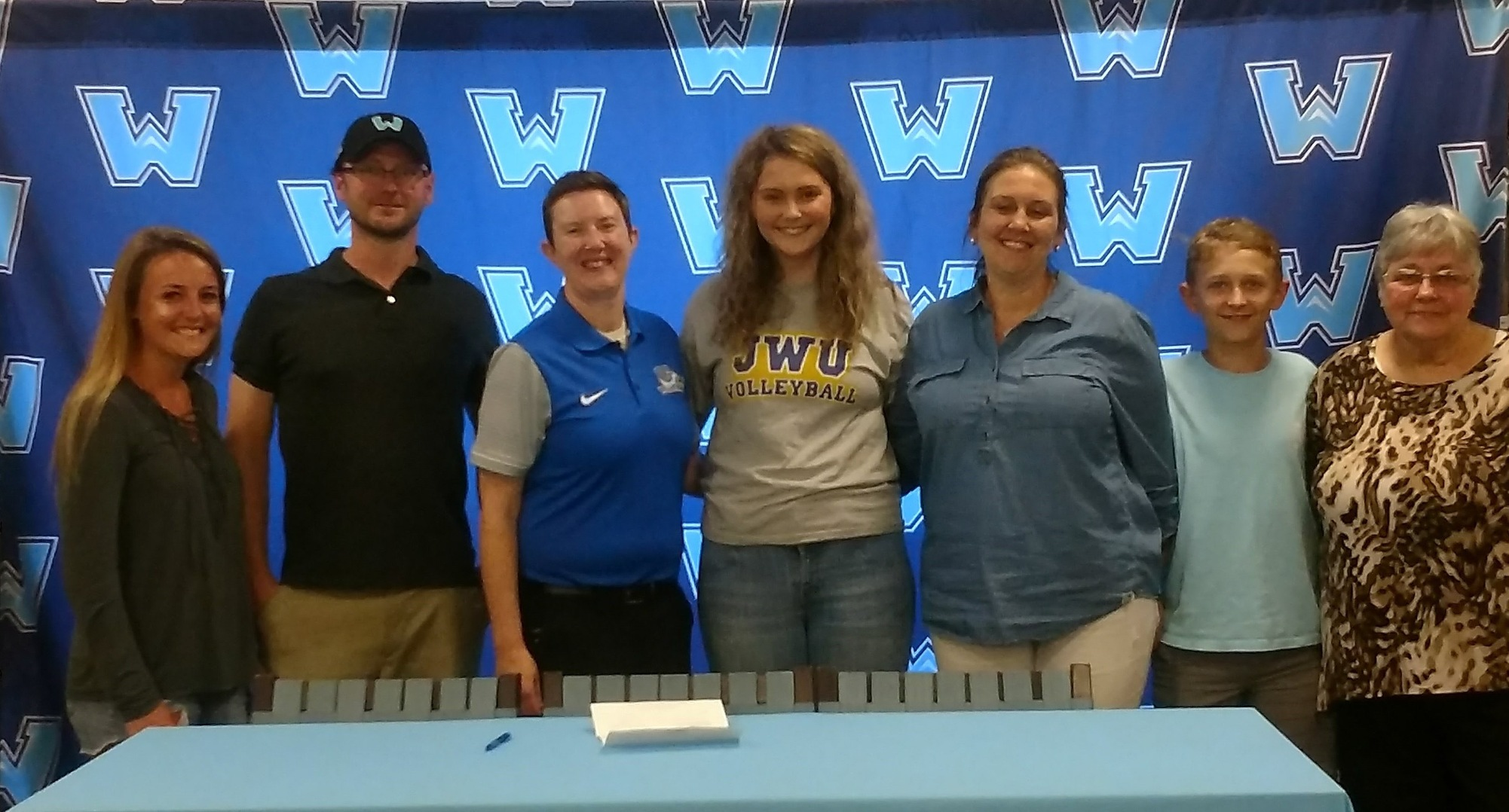 Watauga's Taylor Walker Signs With JWU Volleyball