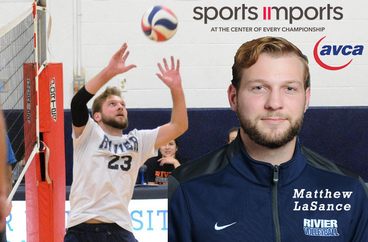 Men's Volleyball: Matt LaSance named Sports Imports/AVCA Player of the Week