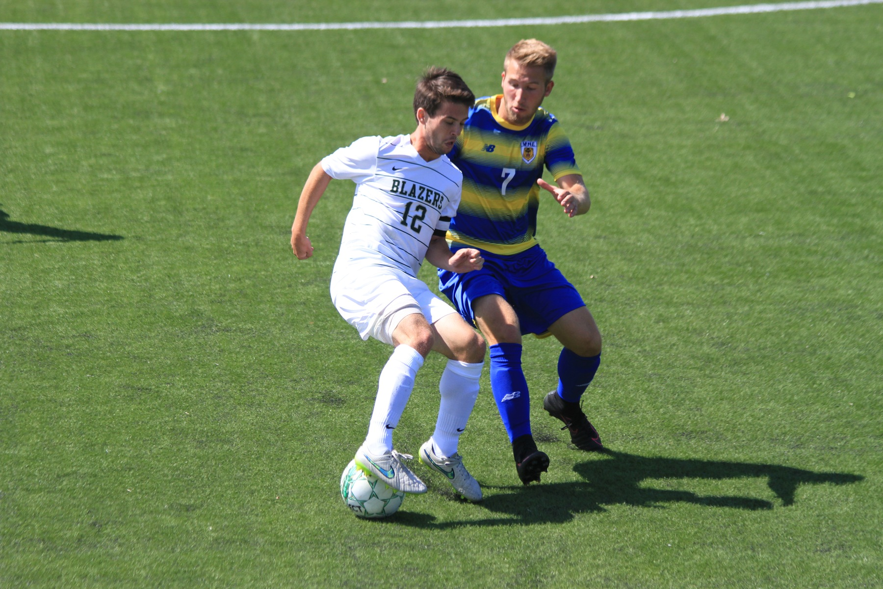 Western New England Overpowers Men's Soccer