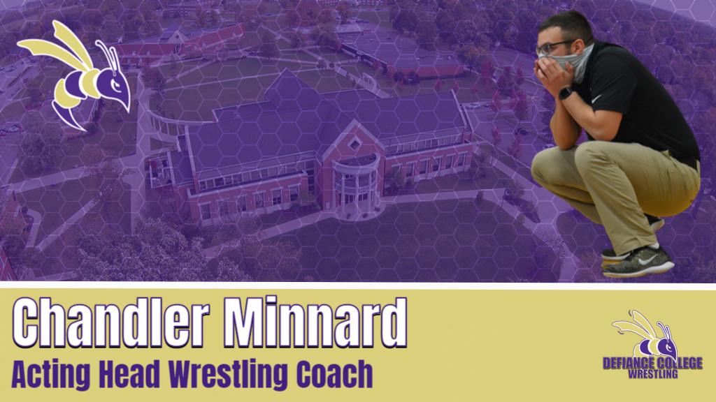Minnard named acting head wrestling coach