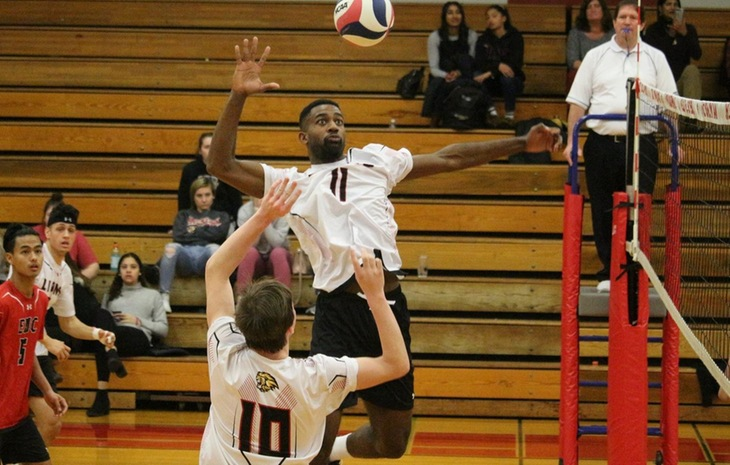 Men's Volleyball Downs Dean 3-0 Friday