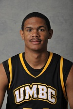 Chandler Thomas led UMBC with 23 points at VMI.