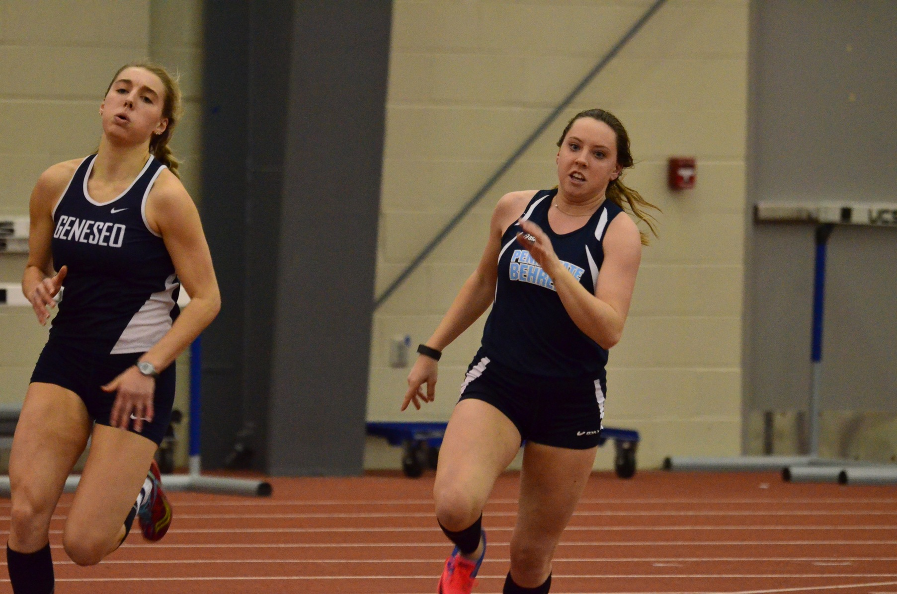 Behrend Competes at First Day of ECAC Championships
