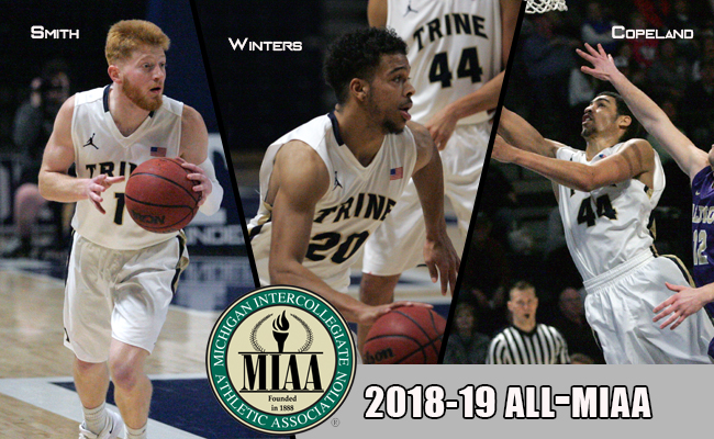 Smith And Winters Highlight Trine's MBB All-MIAA Selections