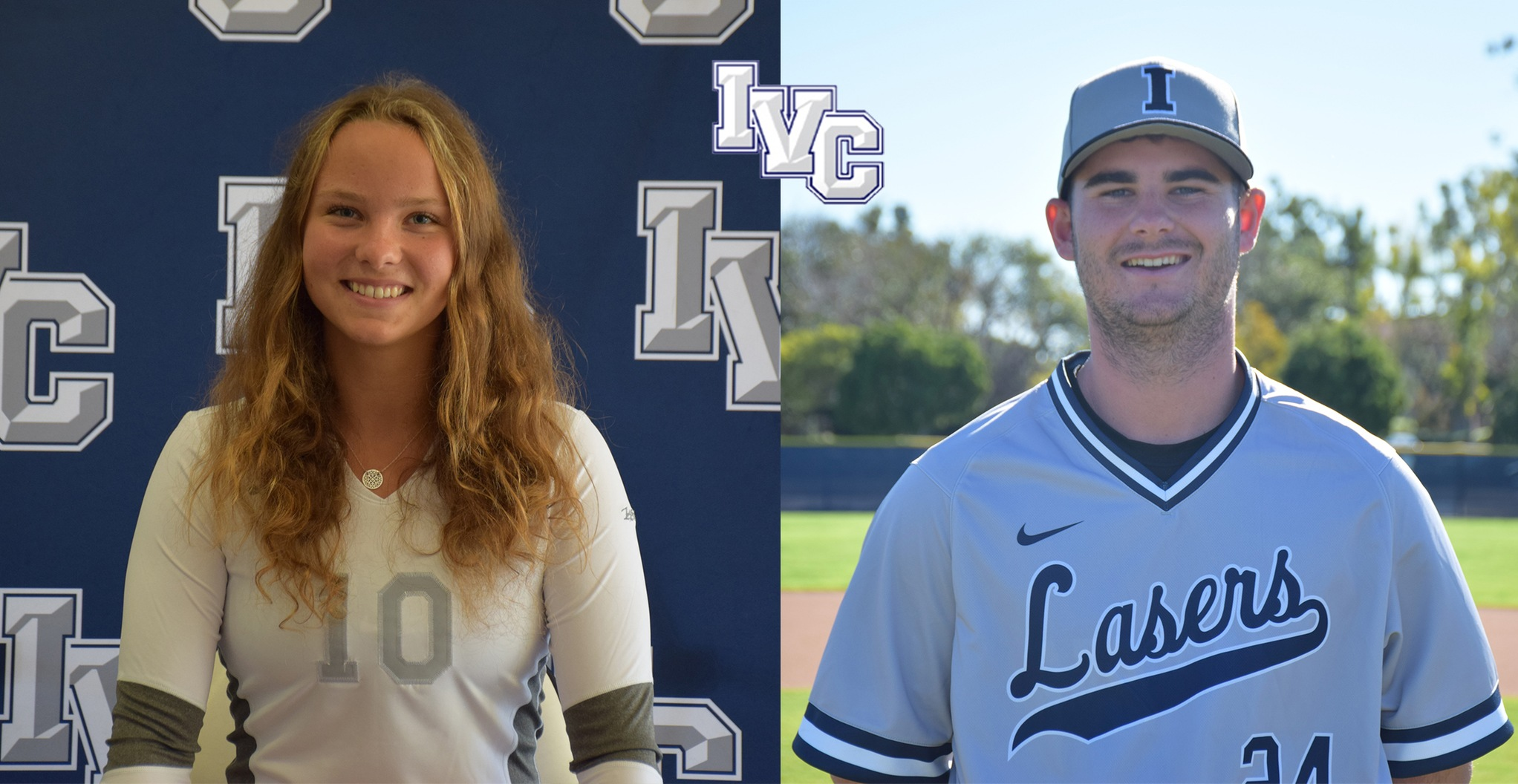 Kruse and Dobson selected IVC athletes of the year for 2018-19