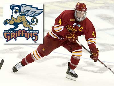 Chad Billins Signs With Grand Rapids Griffins
