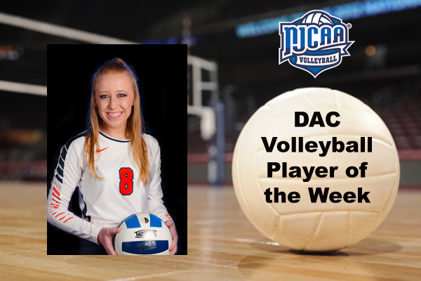 DAC Volleyball Player of the Week (Oct. 9)