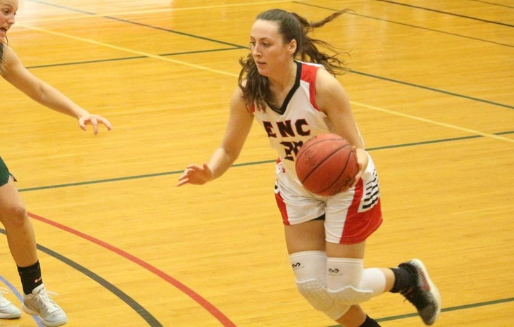 Women's Basketball Falls to Becker, 45-43, on Late Bucket