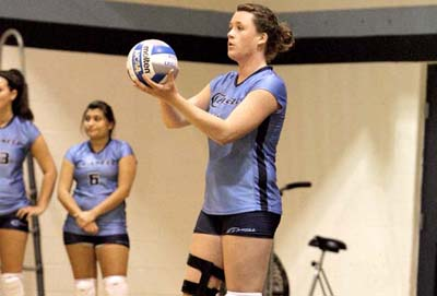 Women's Volleyball Continues on Winning Streak