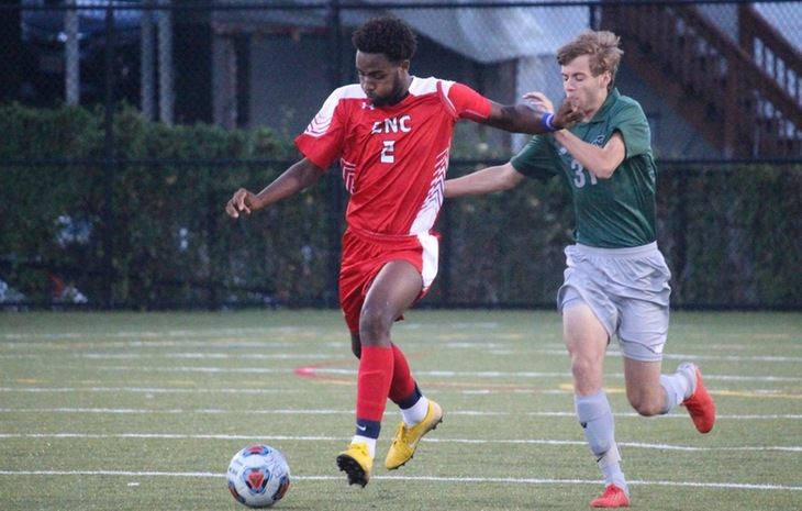 Men's Soccer Drops Season-Opener to Nichols, 2-0