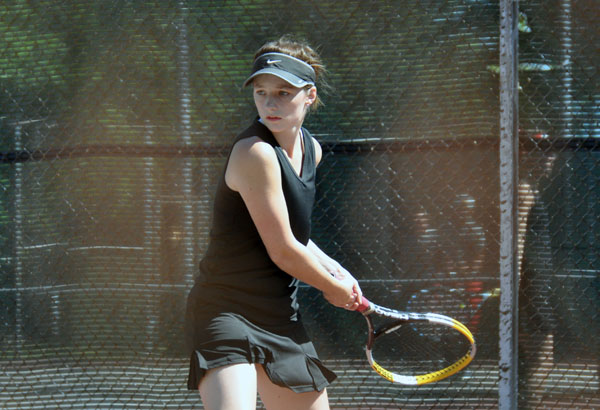 Women's Tennis: Panthers sweep Wesleyan in GSAC match