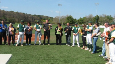 Rams with Decisive Win on Senior Day