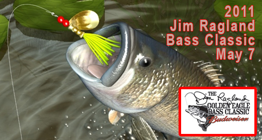 Save the date: Jim Ragland Bass Tournament scheduled for Saturday, May 7