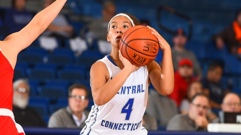 Patterson Nets Career-High, Slicklein's Heroics Lift Central Past SHU, 73-71