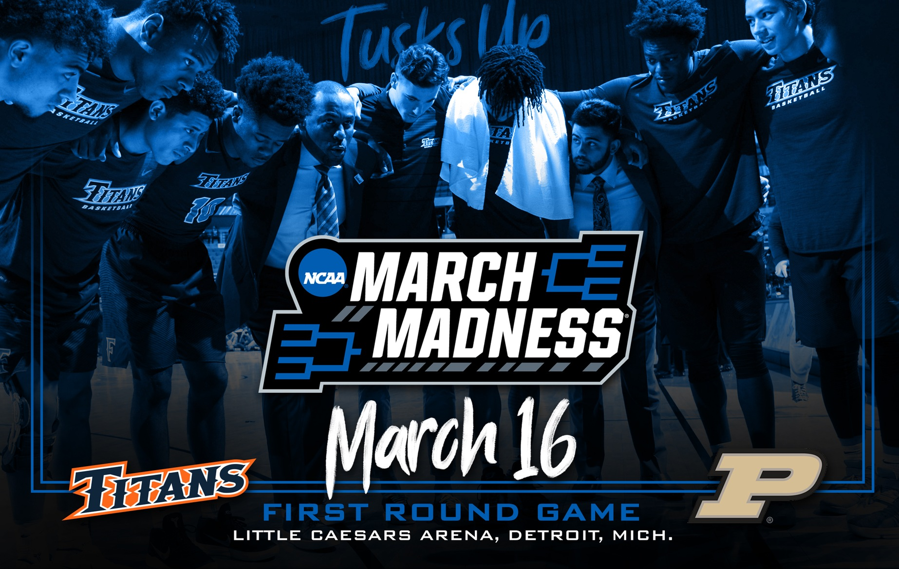 Men's Basketball Earns No. 15 Seed in East Region, Heads to Motown to Face Purdue