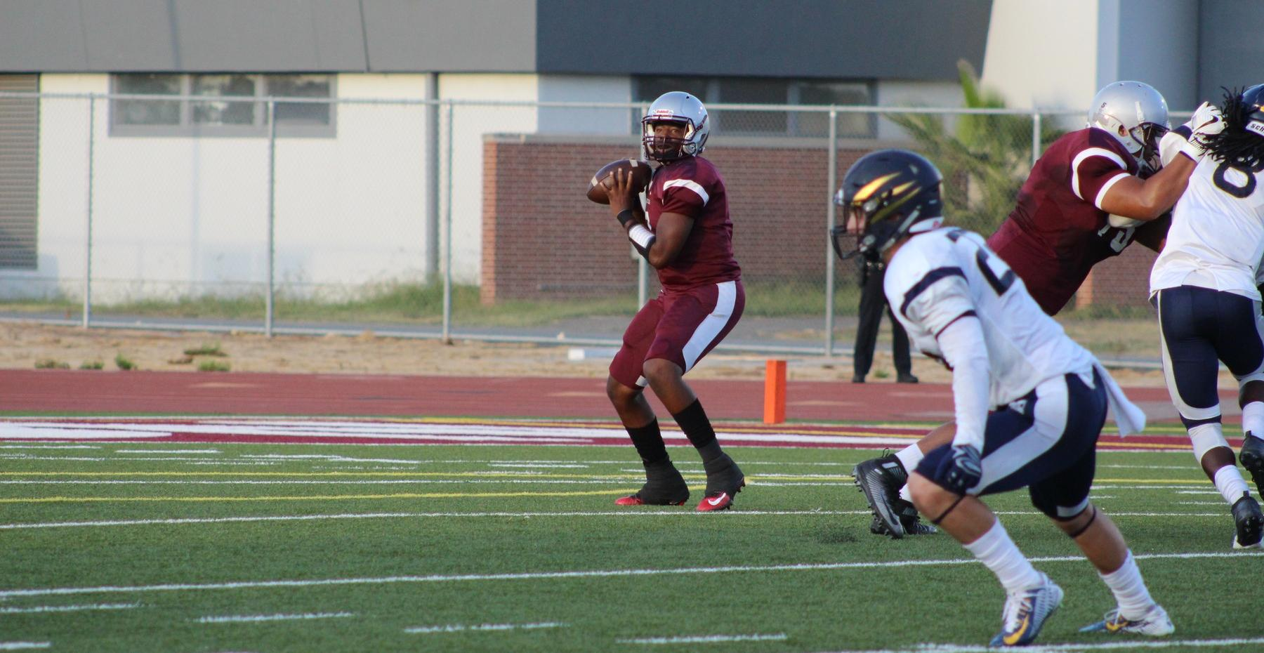 Tartars Fall to San Diego Mesa, 35-0
